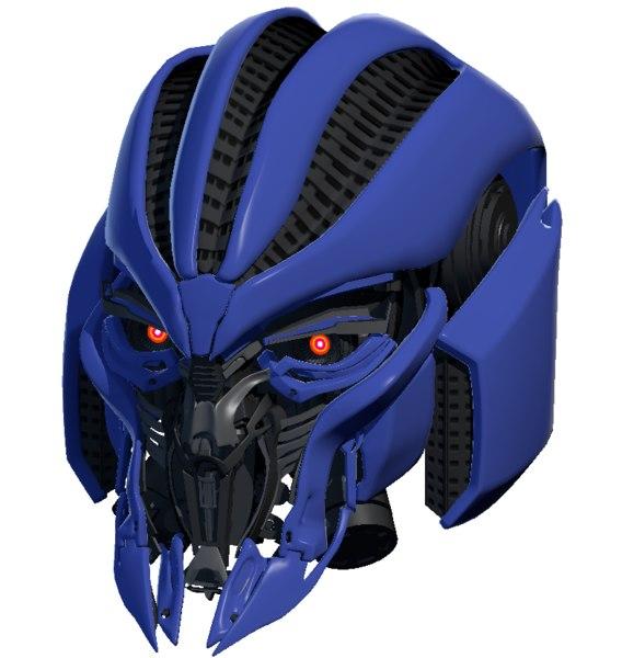 3D model dropkick s head