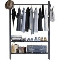 clothes rack men s 3D model