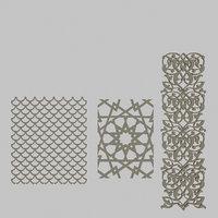 classical patterns 3D model