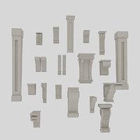 molding 3D model