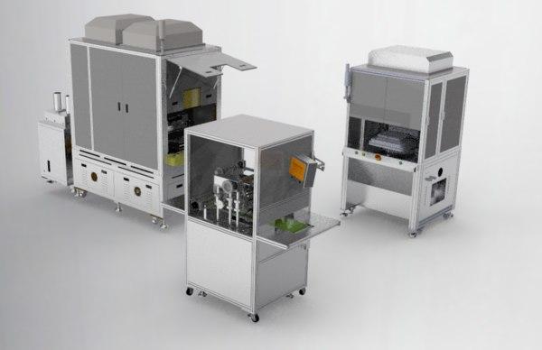 combination laminating machine 3D