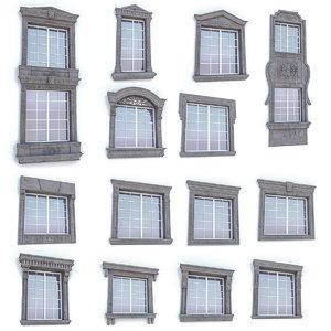 classic window 3D