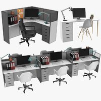 Office Workstations Collection