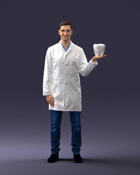 dentist 3D model