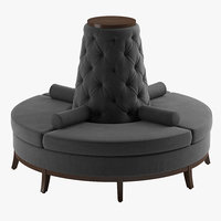 Rondo Pouf By POWELL AND BONNELL