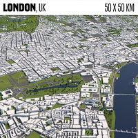 London 50x50km