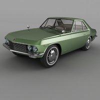 1965 nissan silvia csp311 3D model