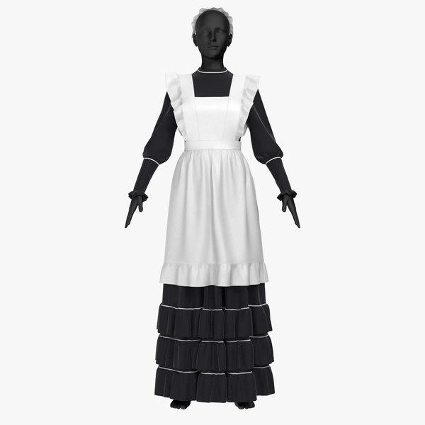 3D dress governess