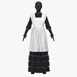 3D dress governess