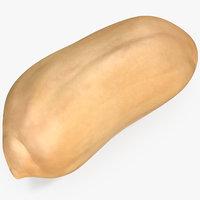 3D peanut seed peeled