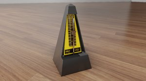 3D music metronome