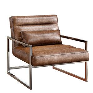 3D michael loft steel armchair model