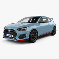 Hyundai Veloster N with HQ interior 2018