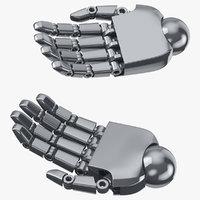 robot hands 01 natural model