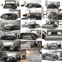 3D model ikea bed