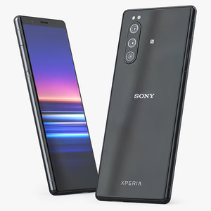 3D sony xperia 5 black