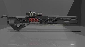 laser gun model