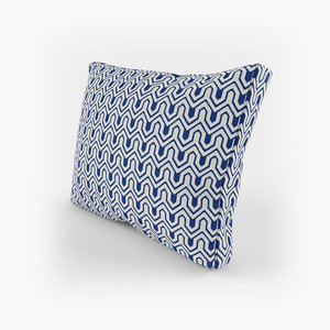 square cushion 3D model
