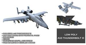 unity a10 thunderbolt ii 3D