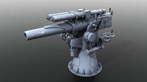 3D italian howitzer