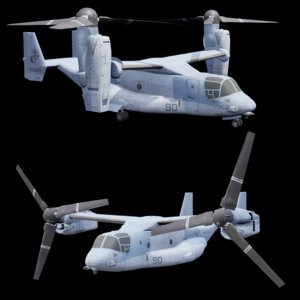 3D v22 osprey