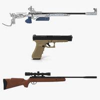 sport weapons 3D model