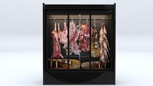 3D meat food model