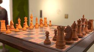 chessboard chess model