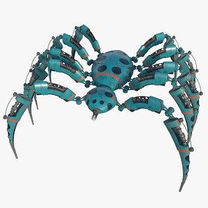 3D spider bot