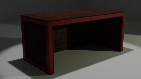 desk furniture model