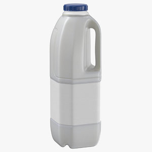 3D infini milk bottle medium
