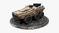 RTS Armoured 6X6 - 20