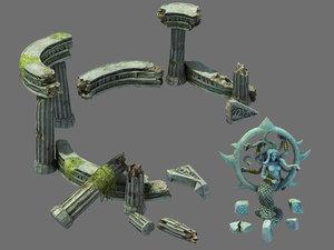 3D kazlog shallow bay -