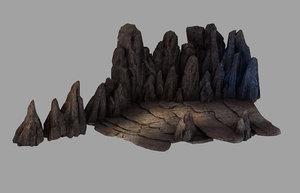 3D meng ling - stair model