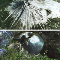 3D fuji mount mountain model