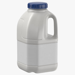 infini milk bottle small 3D model
