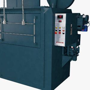 3D industrial oven