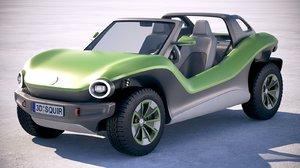 volkswagen id buggy 3D
