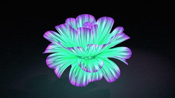 violet flower model