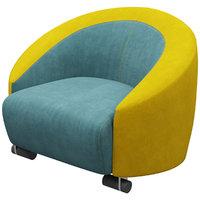 3D ditreitalia cart armchair model