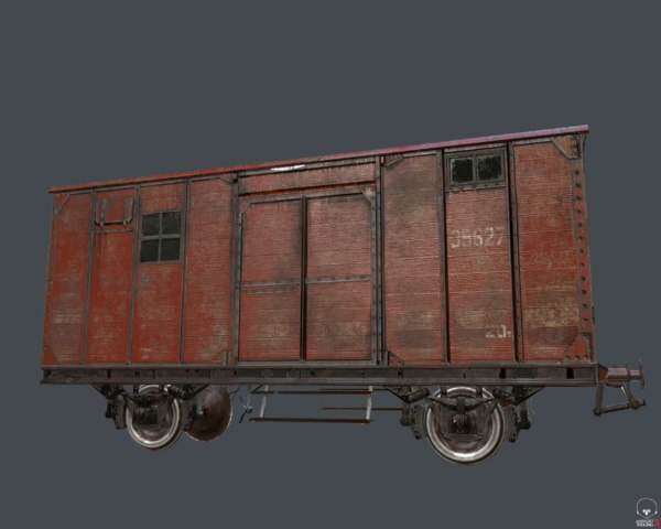 train raildroad car model