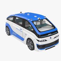 3D navya autonom cab model