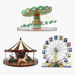 amusement park rides model