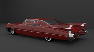 1959 coupe deville 3D model