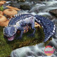 3D gecko monster creature