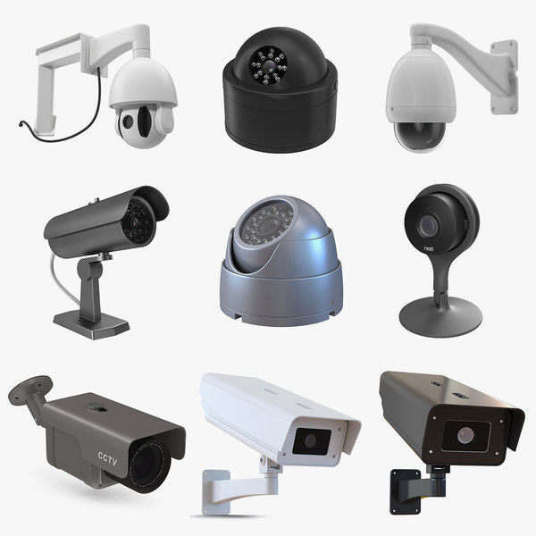 Cctv cameras 5 3D model - TurboSquid 1446326