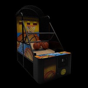 3D arcade basketball