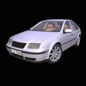 3D generic german sedan