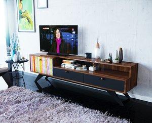 3D tv wall unit model