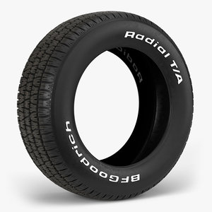 3D bfgoodrich radial t tire